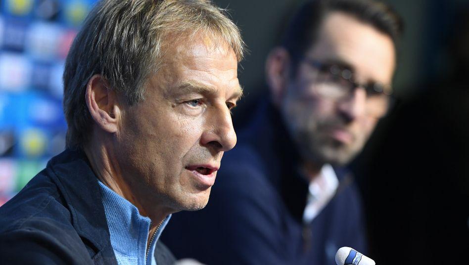 Jürgen Klinsmann (l.) und Michael Preetz: In Orlando zerbrach etwas