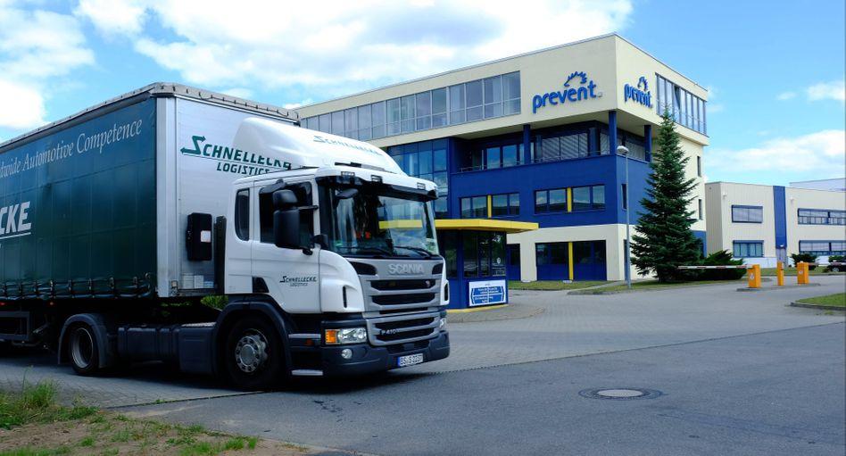 Hauptsitz der Prevent DEV in Wolfsburg