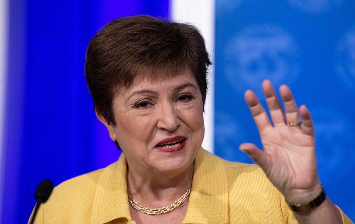 IWF-Chefin Kristalina Georgieva: Wirtschaftliche Lage auf den Kopf gestellt