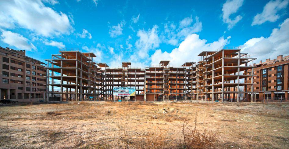 """Immobilien-Ruine in Madrid: """"Fortbestand der Euro-Zone sicherstellen"""""""