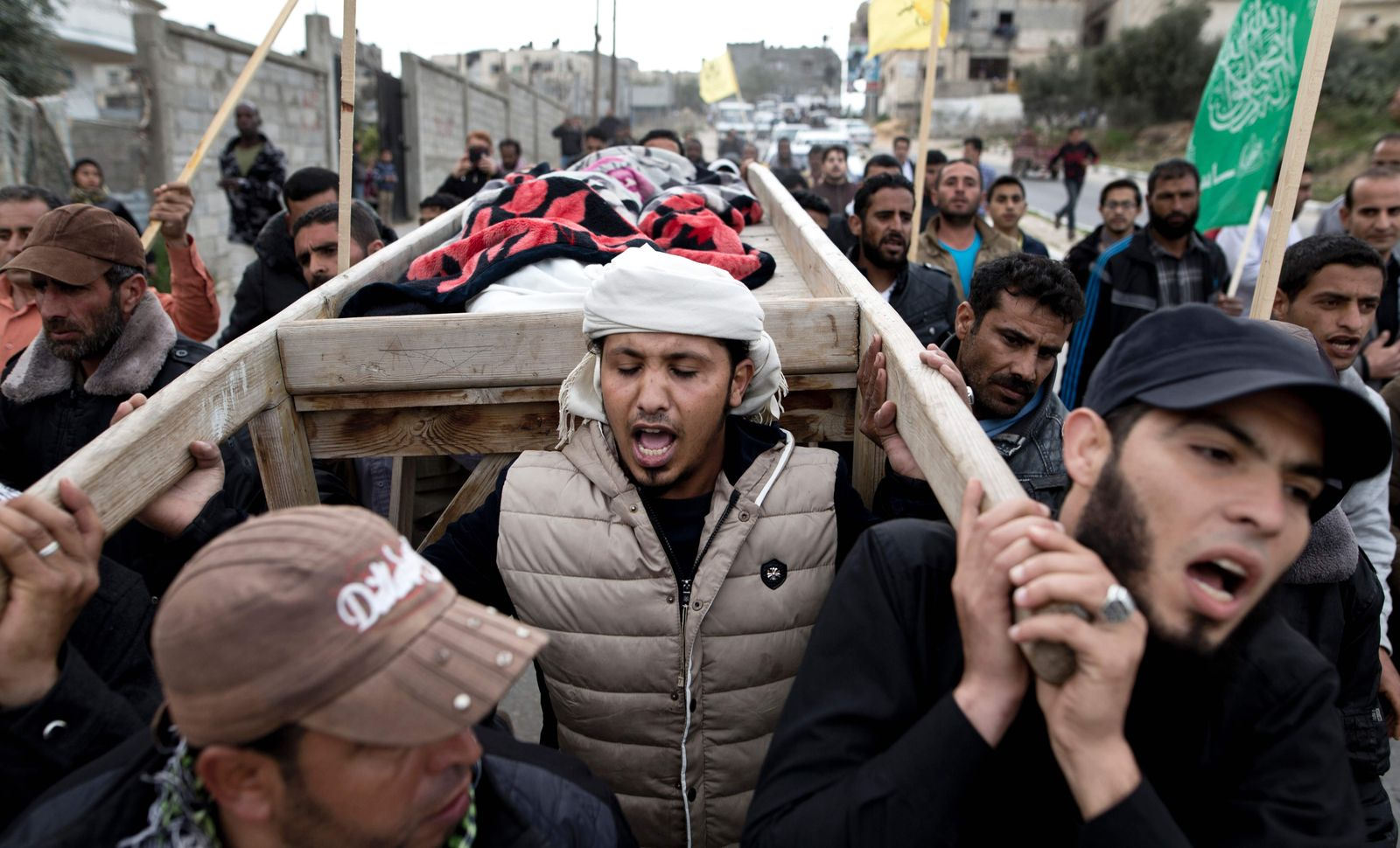 PALESTINIAN-ISRAEL-FUNERAL-CONFLICT