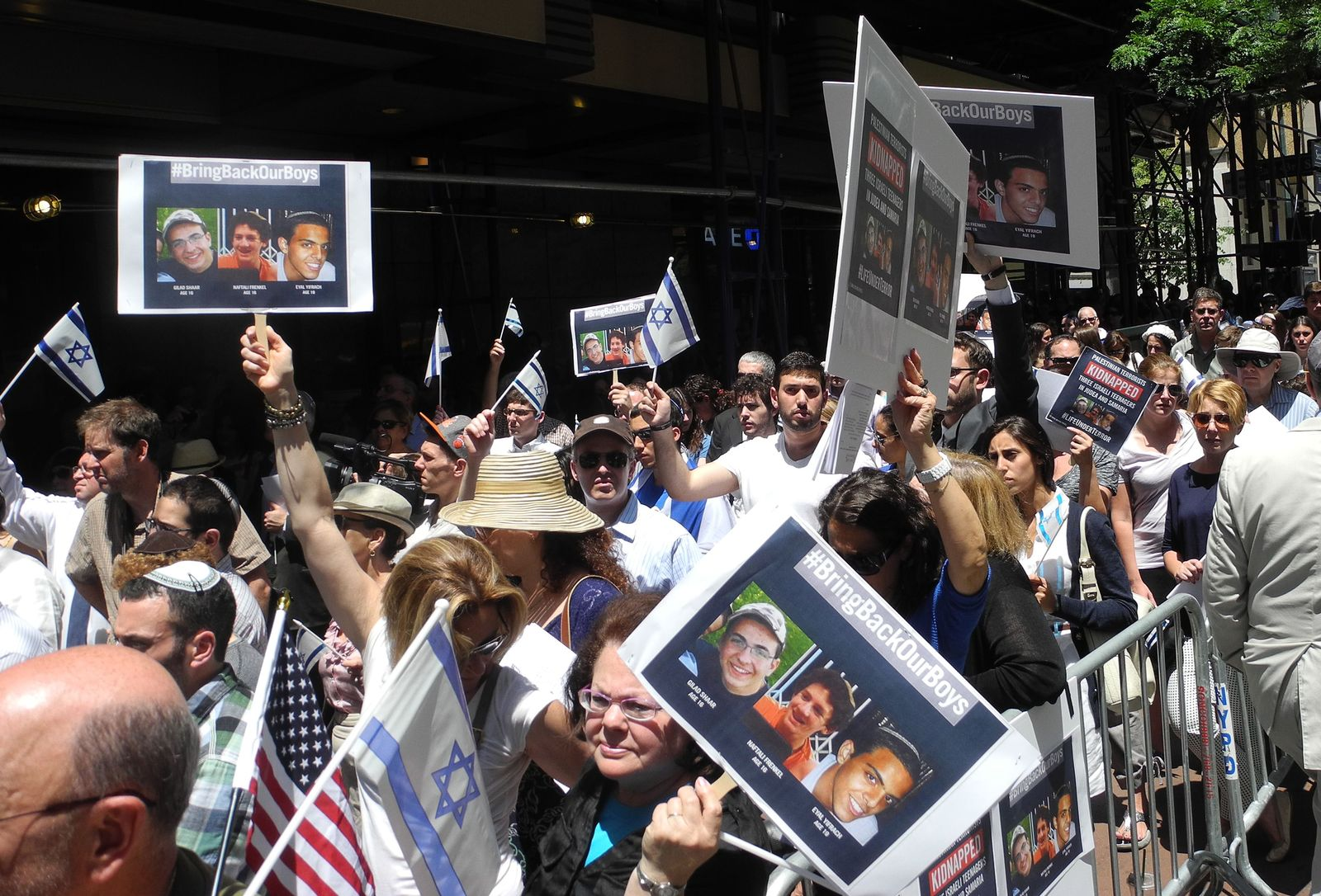 US-ISRAEL-PALESTINIANS-CONFLICT-KIDNAPPING-DEMO