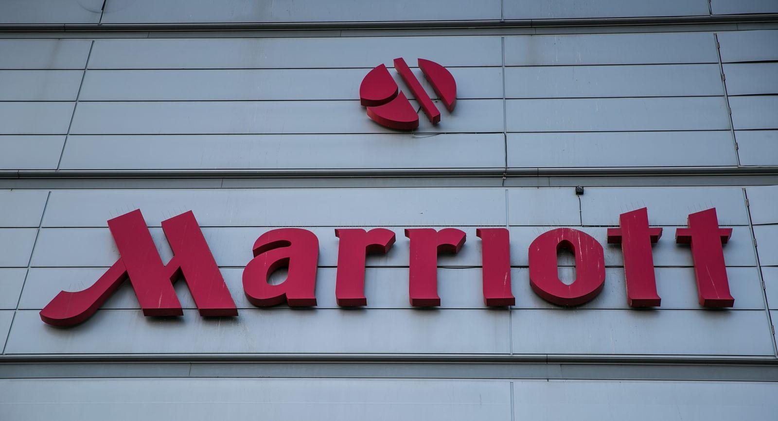 EINMALIGE VERWENDUNG Marriott Hotel