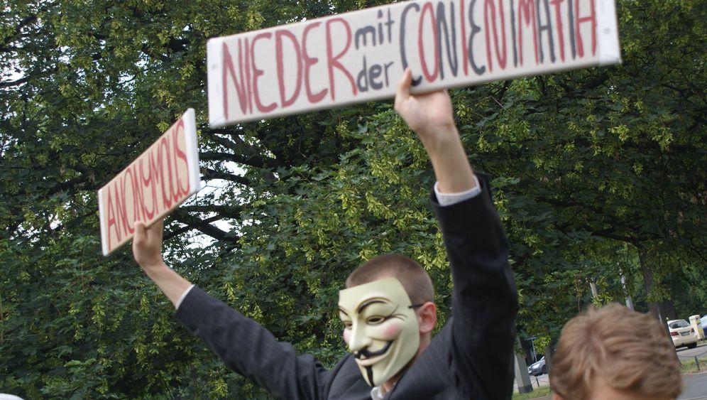 Stream-Piraten: Protest gegen kino.to-Abschaltung