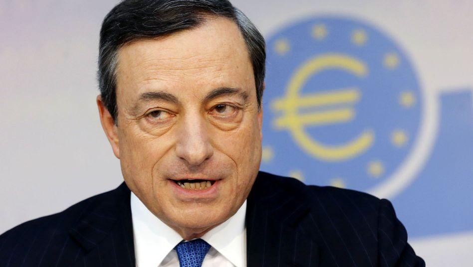 """EZB-Präsident Draghi: """"Wir sind hiermit nicht am Ende"""""""