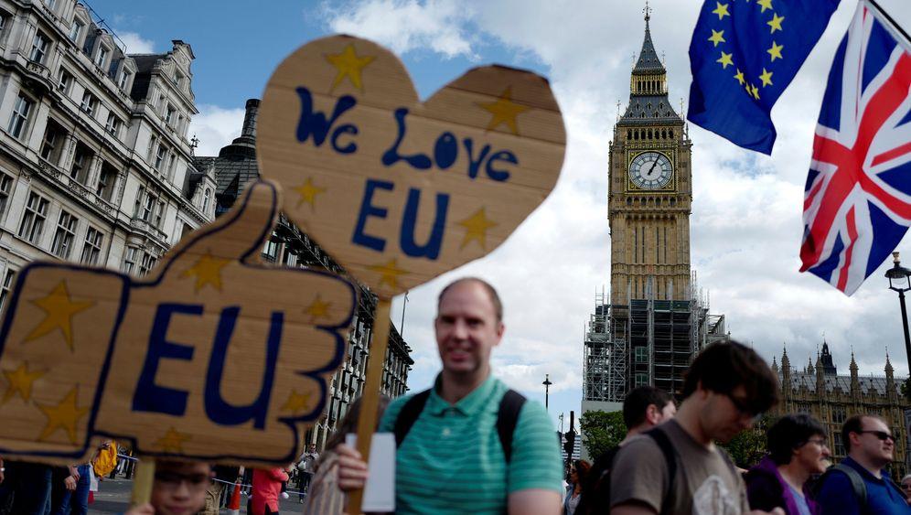 Exit vom Brexit: Briten demonstrieren gegen EU-Austritt