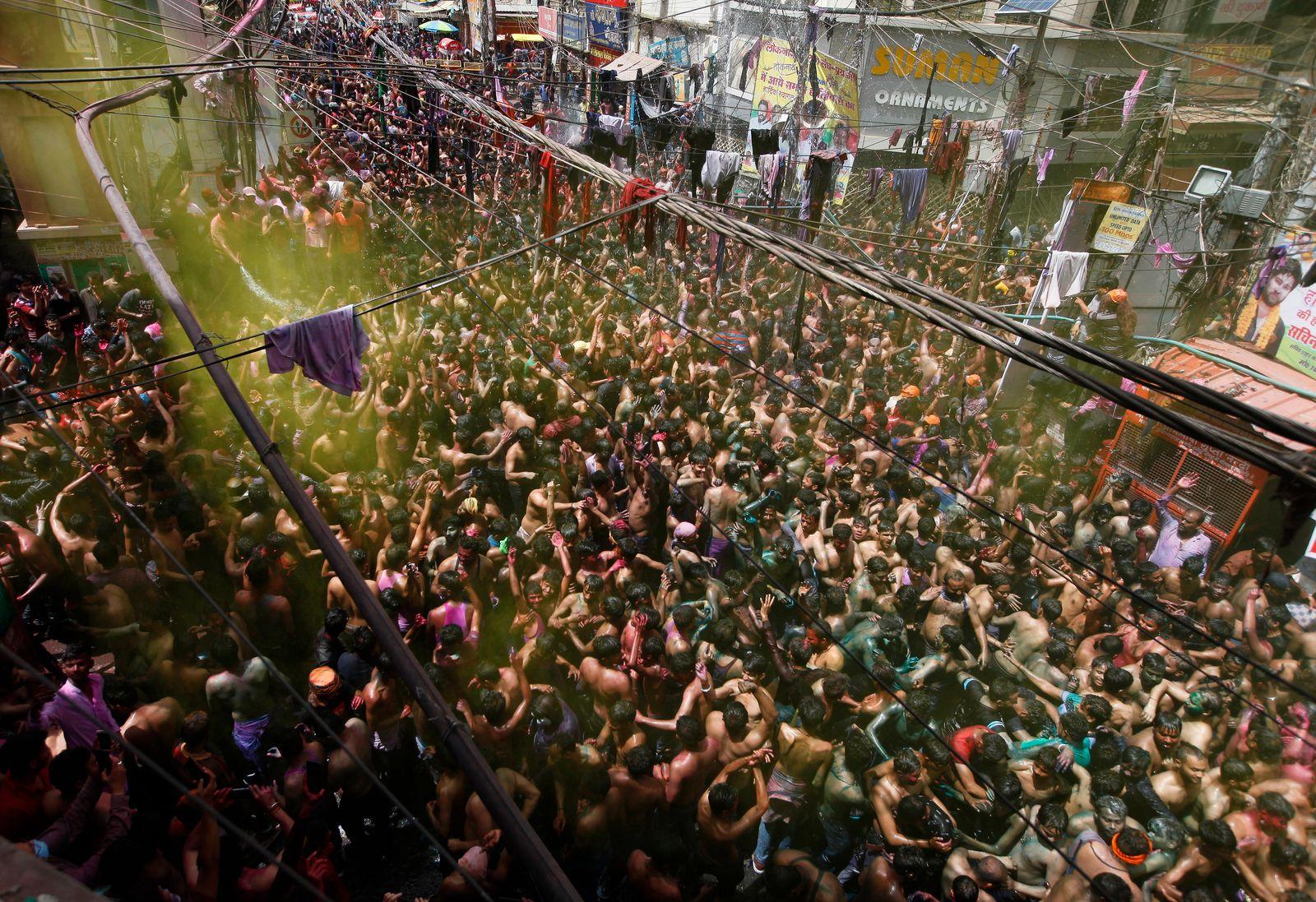 Frühlingsfest «Holi» in Indien