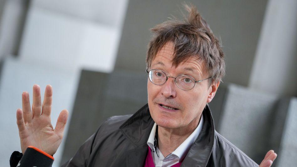 Karl Lauterbach: »Wir werden aber einen schweren Winter haben, wenn wir nicht die nötige Impfquote erreichen«