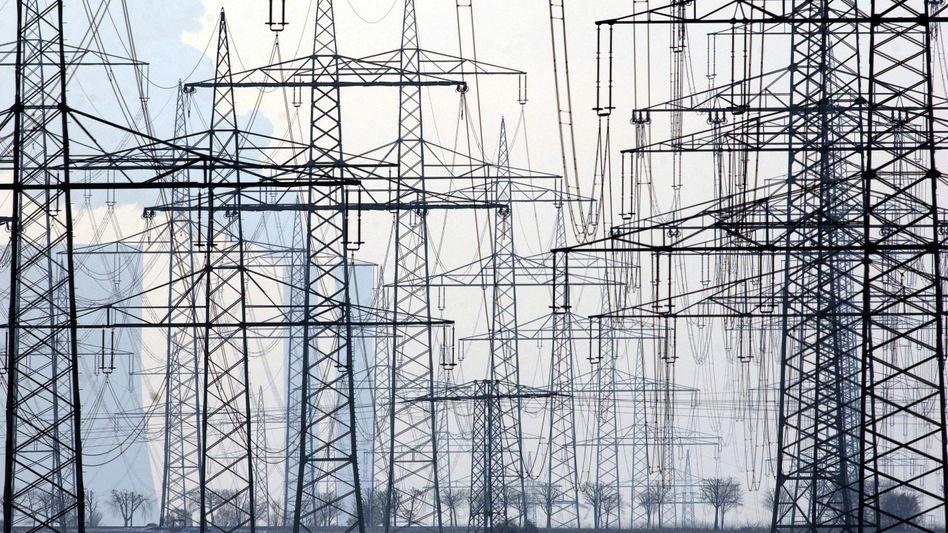 Strommasten in NRW