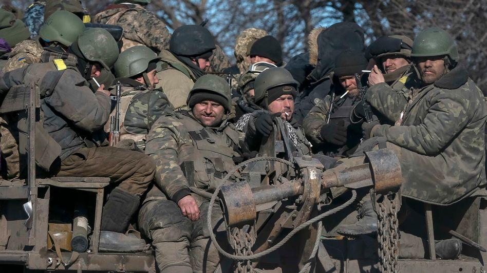 Ostukraine: Poroschenko bestätigt Truppenabzug aus Debalzewe