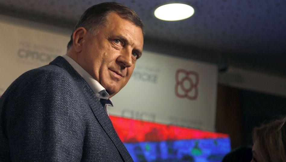 Milorad Dodik, bosnischer Serbenführer