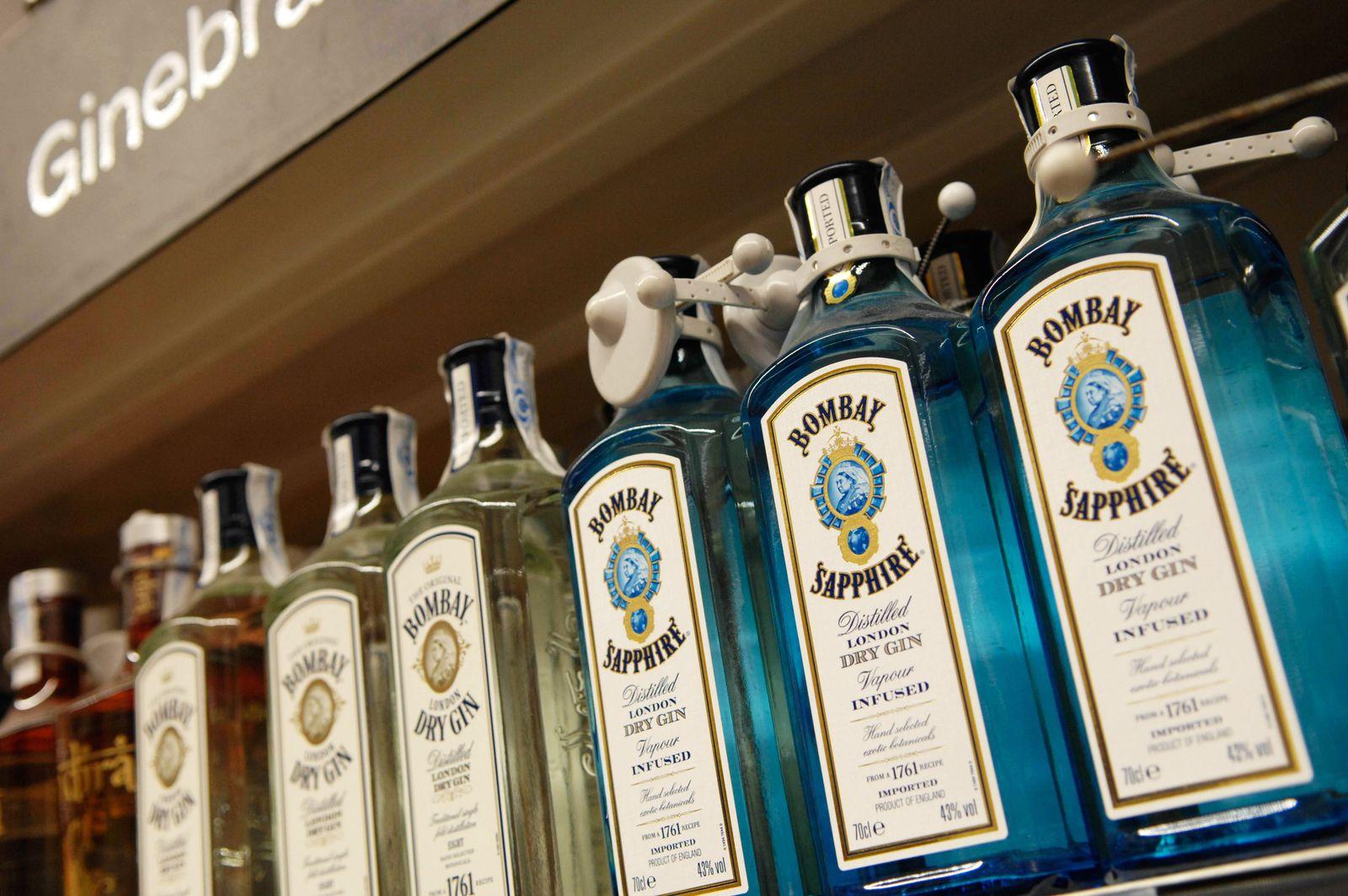 EINMALIGE VERWENDUNG Bombay Sapphire Gin