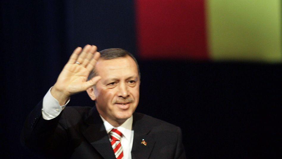 Erdogan: Der türkische Regierungschef soll ein Bekenntnis zur Religionsfreiheit ablegen