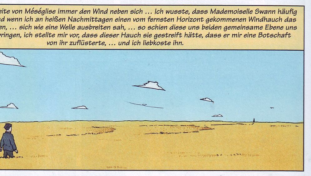 Proust-Comic: Schwüle Sommer in Combray