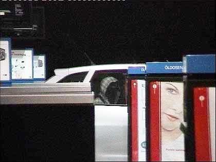 Tankstopp der Geiselgangster an der Autobahntankstelle Stolpe