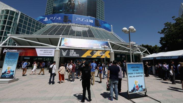 E3 2017 in Bildern: So feiert sich die Gamesbranche