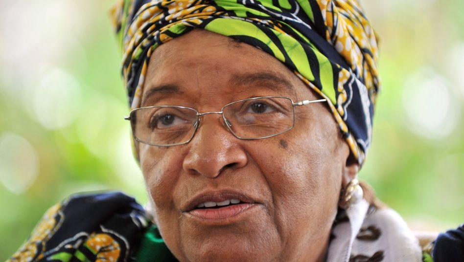 Liberias Präsidentin Johnson-Sirleaf: Undurchsichtige Beziehung zu Charles Taylor