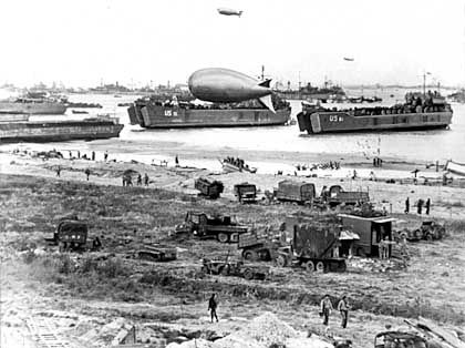 Invasion in der Normandie, Inversion im Nebensatz