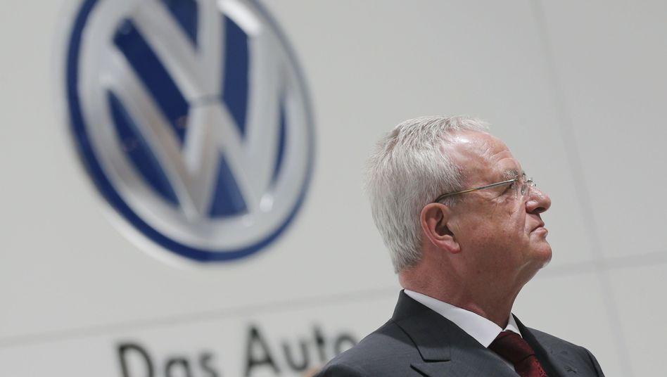 VW-Chef Winterkorn: Überraschend erfolgreicher Jahresbeginn