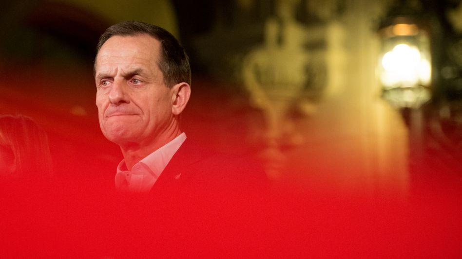 Noch-DOSB-Präsident Alfons Hörmann