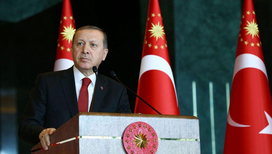 """Türkischer Präsident Erdogan: """"Hey, ihr sogenannten Intellektuellen!"""""""