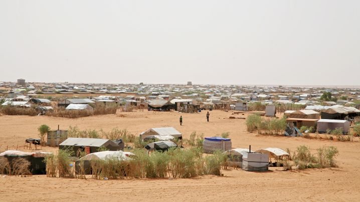 Photo Gallery: Life in a Desert Camp