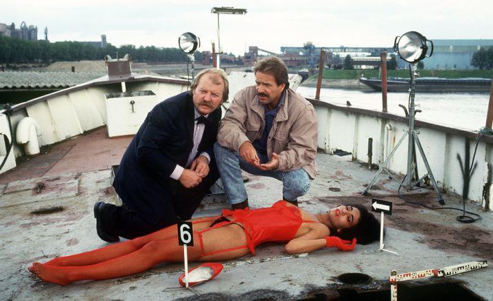 Ohne ihn hätte etwas gefehlt: »Schimmi« mit seinem korrekten Kollegen Thanner (Eberhard Feik)