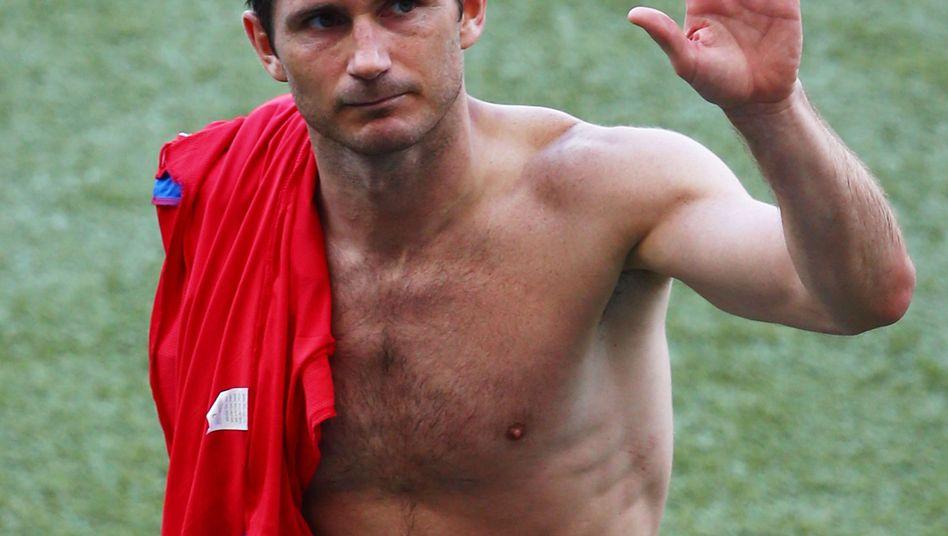 Frank Lampard: Siegloser Abschied der Engländer von der WM