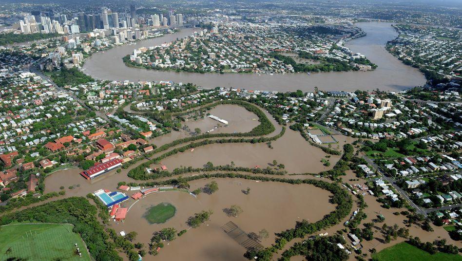 """Hochwasser in Australien: """"Mein Haus ist ein Schwimmbecken"""""""