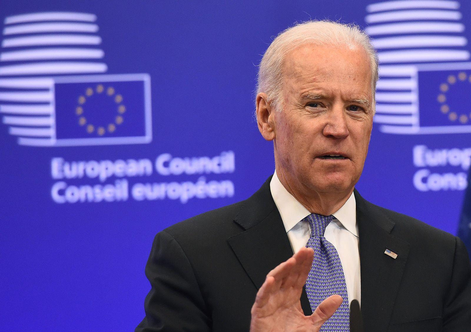 Joe Biden in Brussel