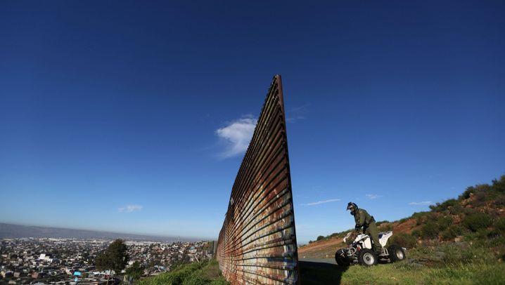 Grenzbereich: So leben die Menschen am Zaun zu Kalifornien