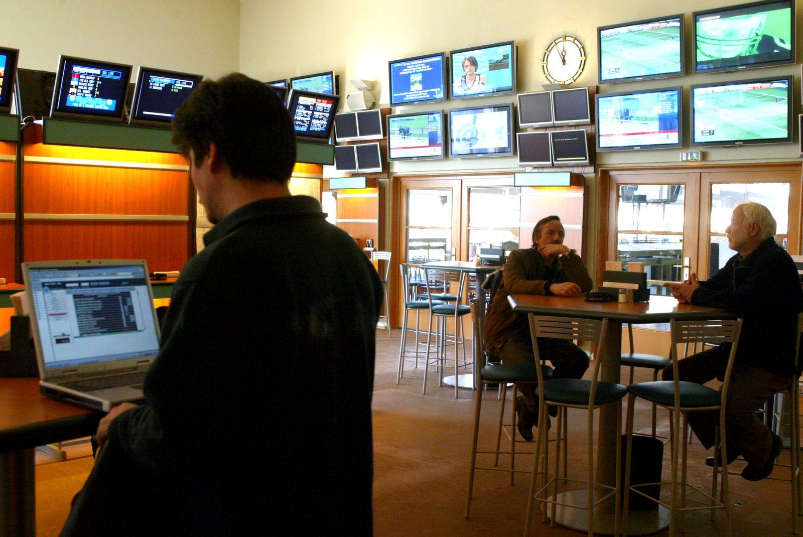NICHT VERWENDEN Wettbüro / Sportwetten / Glückspiel