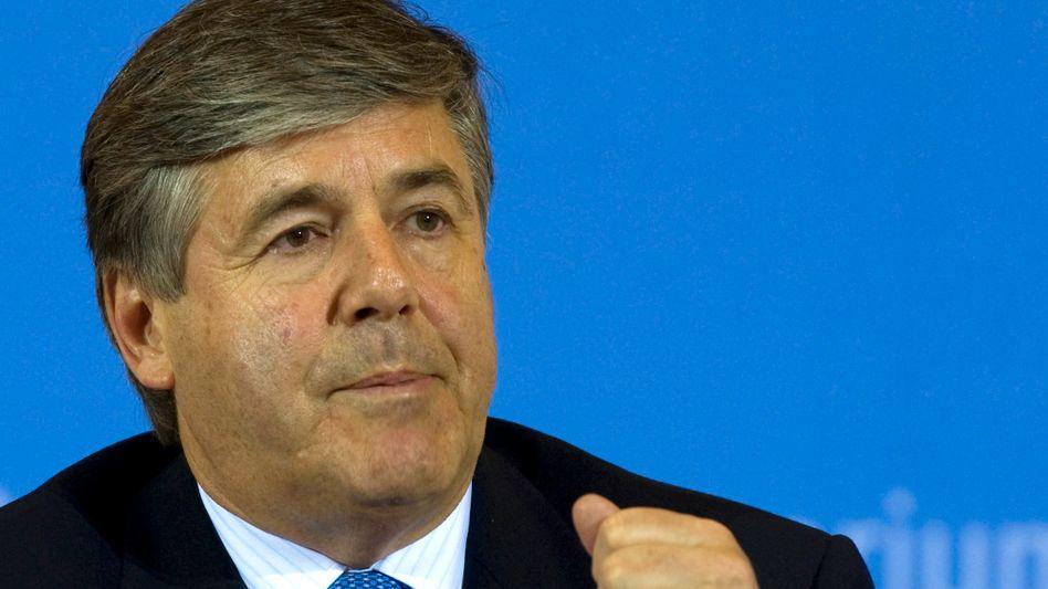 Deutsche-Bank-Chef Ackermann: Zweifel an der Zahlungsfähigkeit Griechenlands