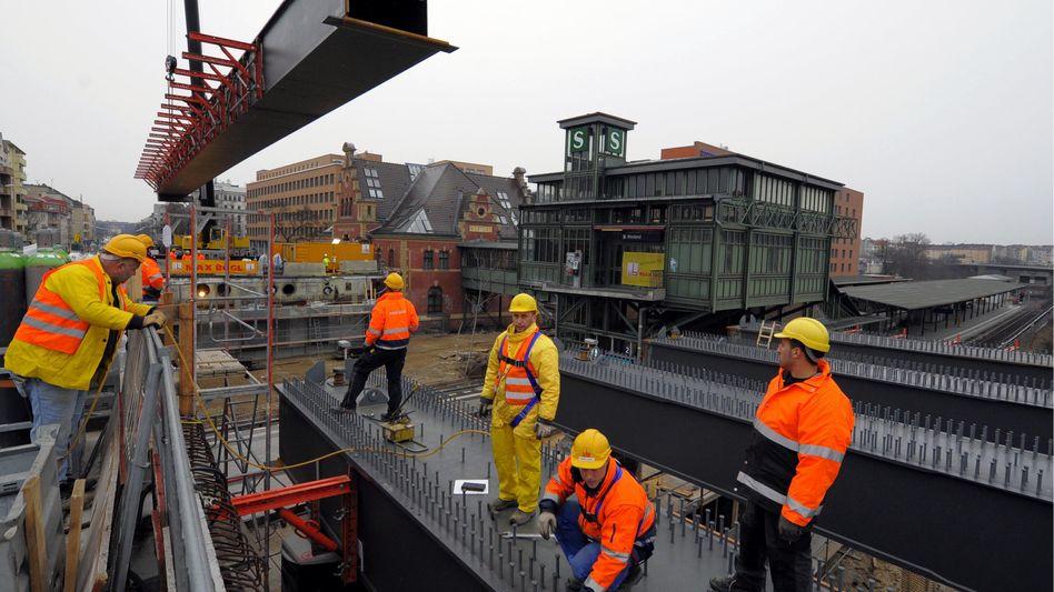 Bauarbeiter in Berlin: 1500 Lohndumping-Verfahren in der Branche