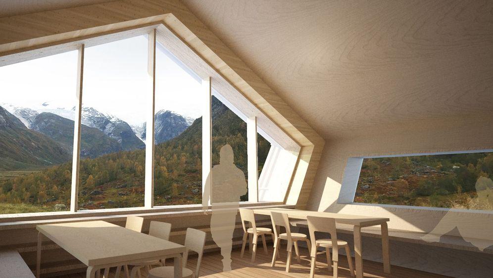 Designerberghütte: Ein Traum in Holz