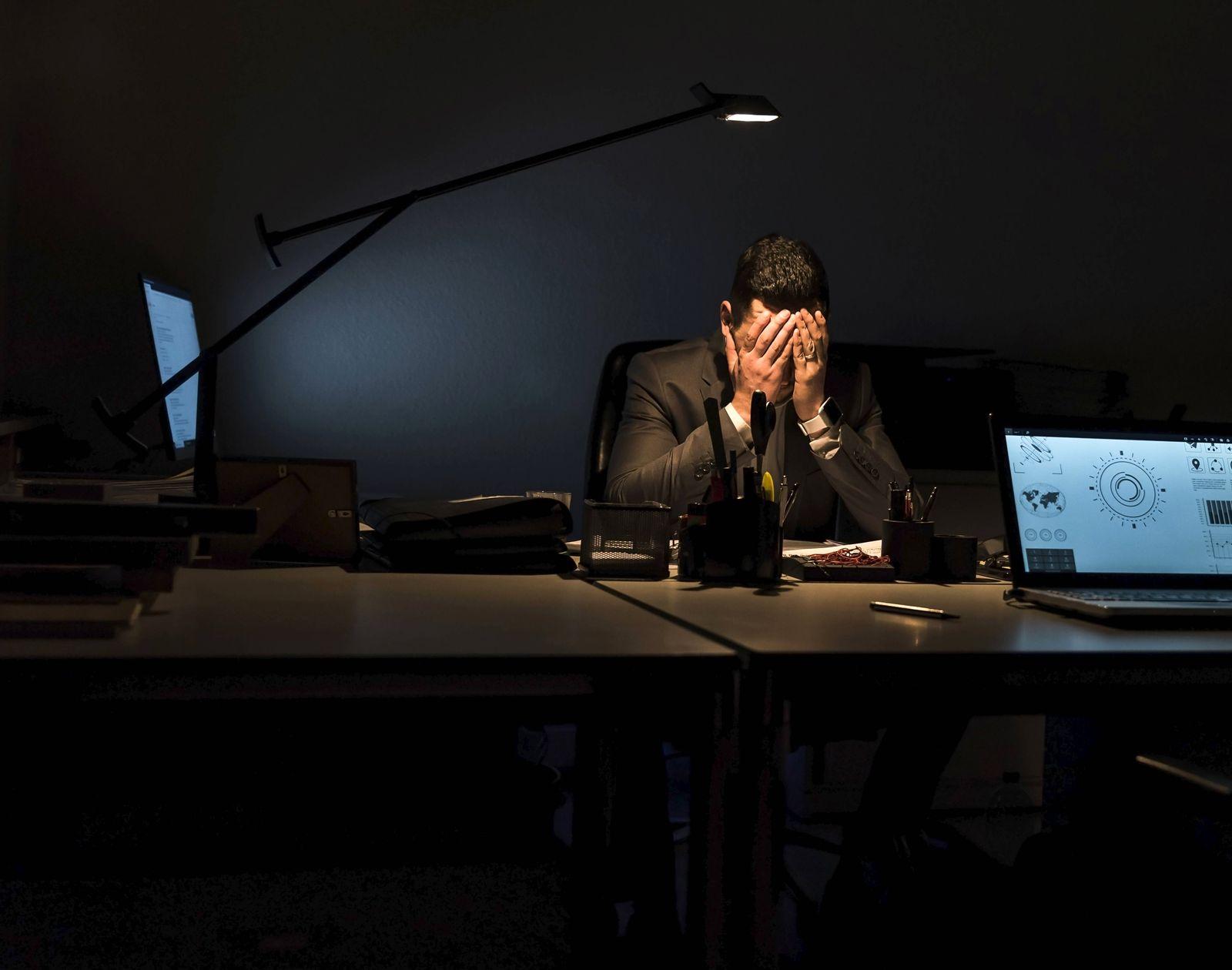 EINMALIGE VERWENDUNG psychische Erkrankung im Job