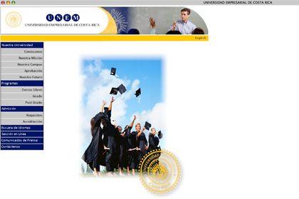 """Screenshot der UNEM-Web-Seite: """"Abschlüsse per Fernstudiengang in Deutschland nicht anerkennungsfähig"""""""