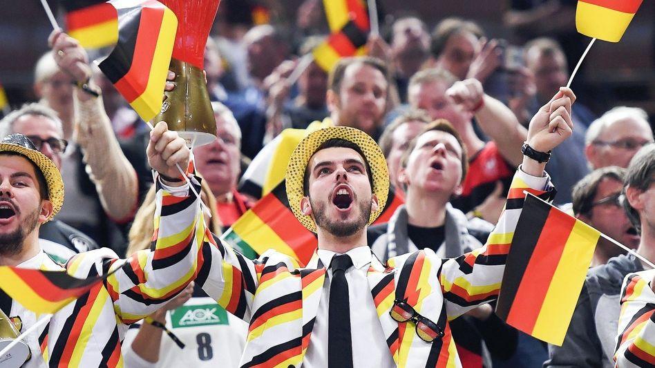 Deutsche Fans bei der Handball-WM