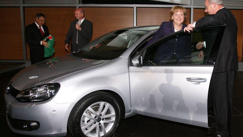 Merkel, VW-Chef Winterkorn: Geradezu lächerliches Gehalt der Kanzlerin im Vergleich