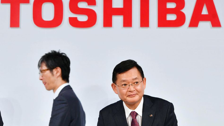 Toshiba-Chef Nobuaki Kurumatani: Streit über die Übernahmeofferte