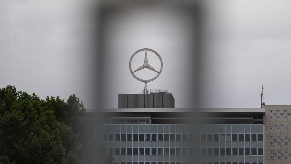 Daimler-Werk in Stuttgart-Untertürkheim