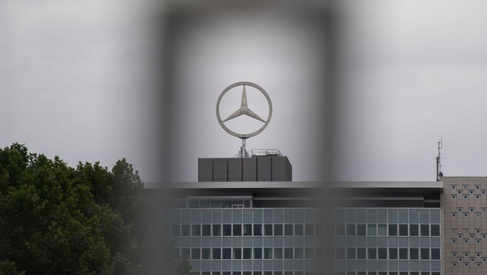 Daimler in Stuttgart-Untertürkheim