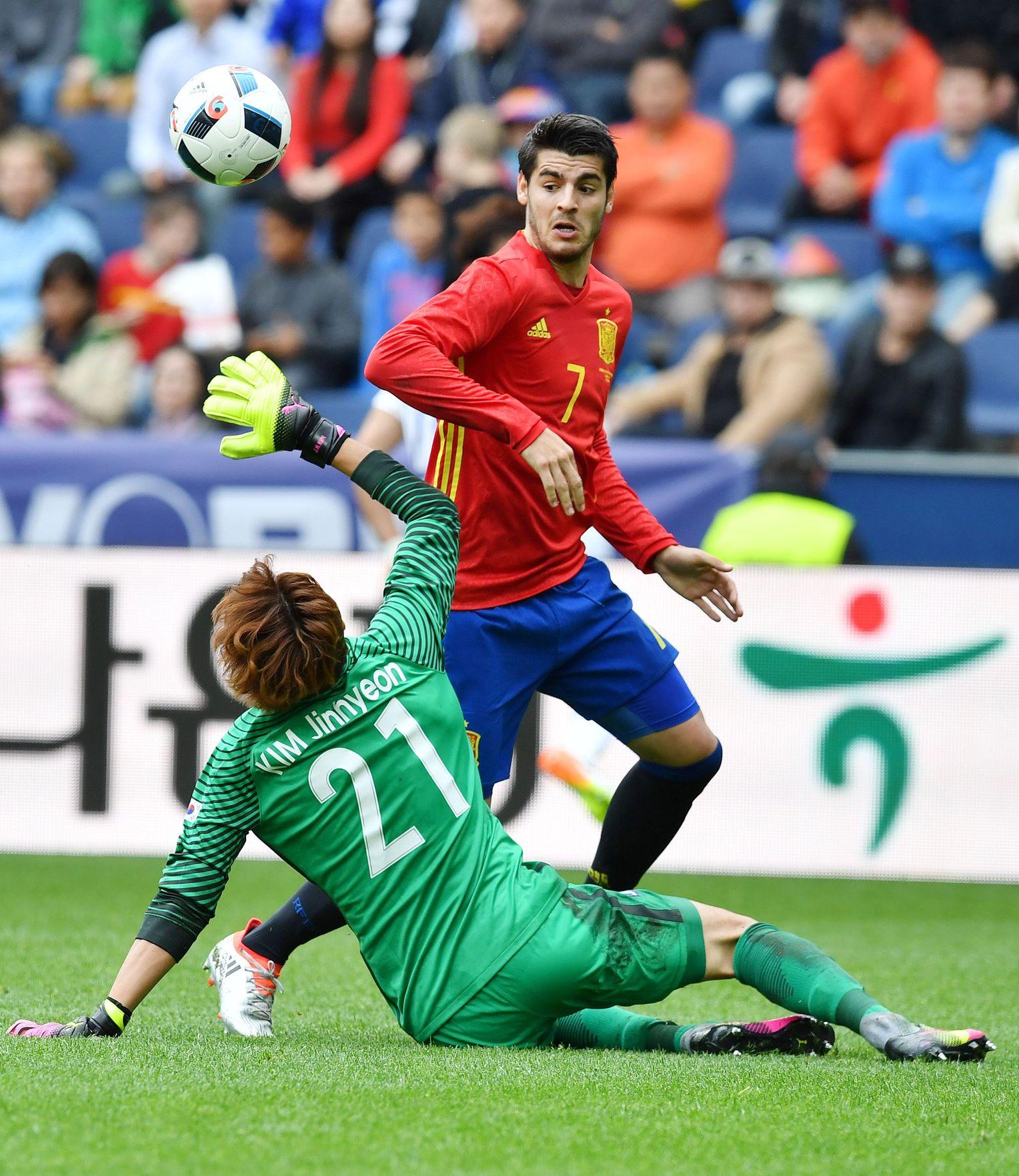 Wie Hat Spanien Gegen Tschechien Gespielt