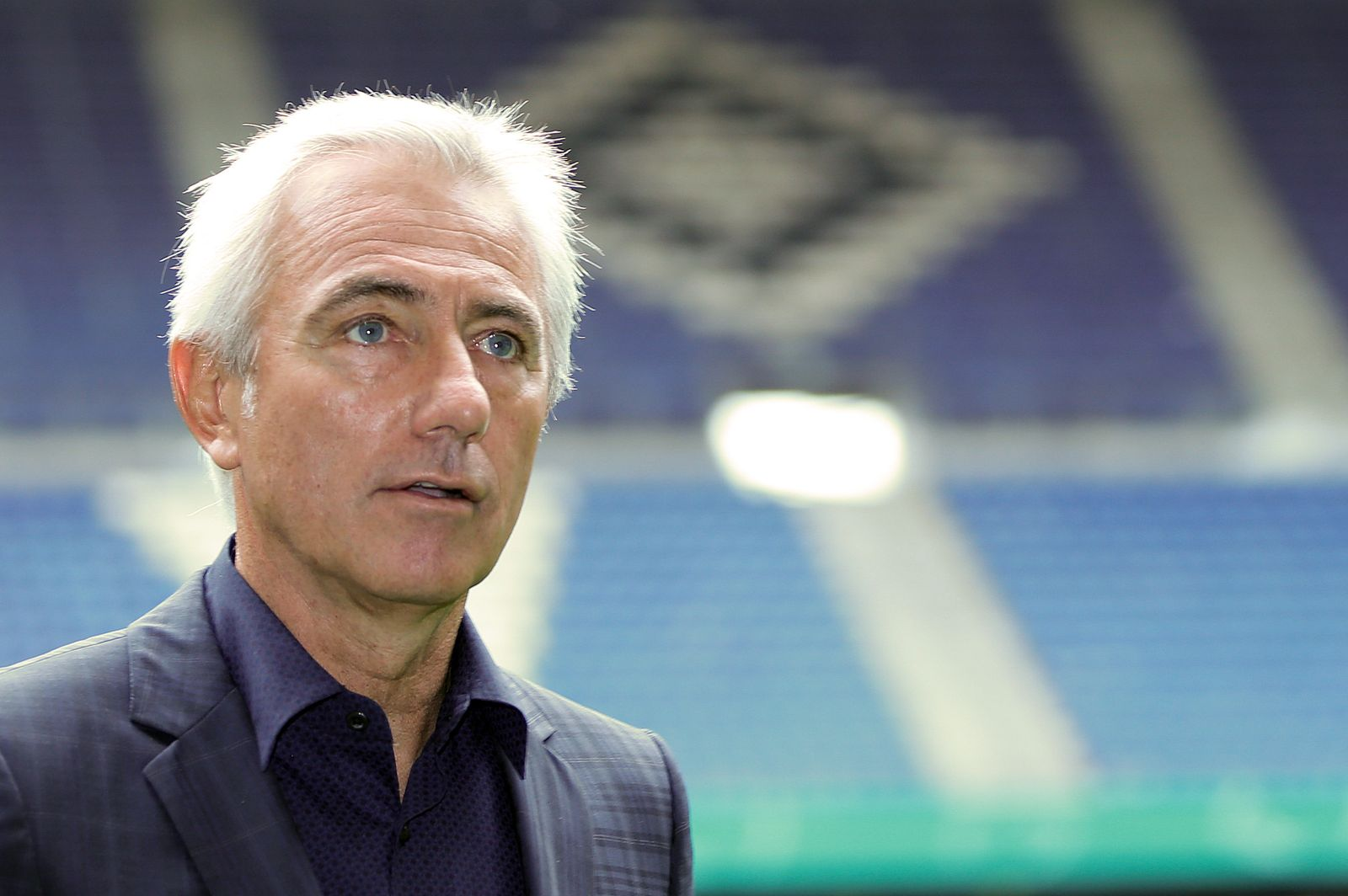 Vorstellung Bert van Marwijk beim HSV
