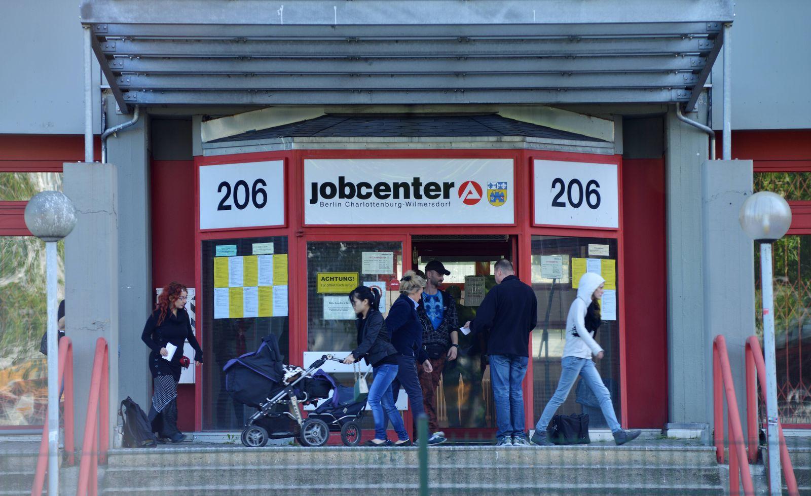 EINMALIGE VERWENDUNG Jobcenter
