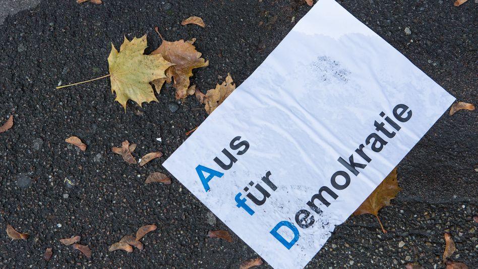 Anti-AfD-Flyer