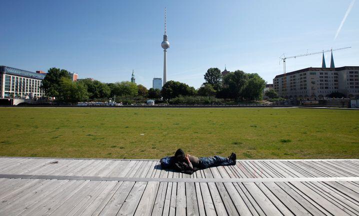Himmel über Berlin: Darunter lässt sich prima Pause machen
