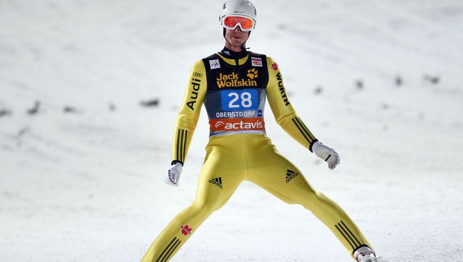 """Skispringer Hocke (Archivbild): """"Ich sehe einfach keine Chance mehr"""""""