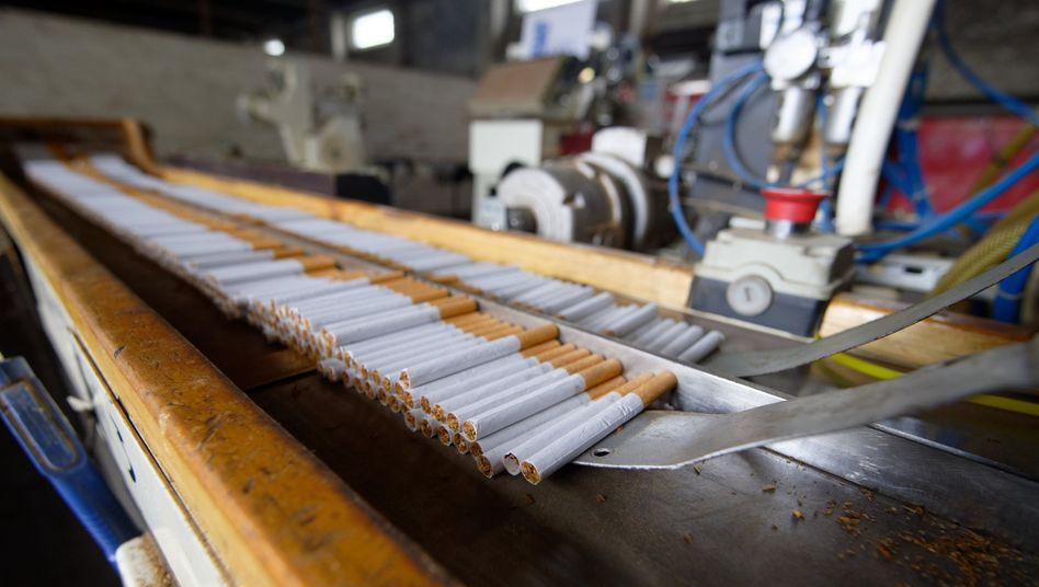 Zehn Millionen Zigaretten sichergestellt (Archivbild)