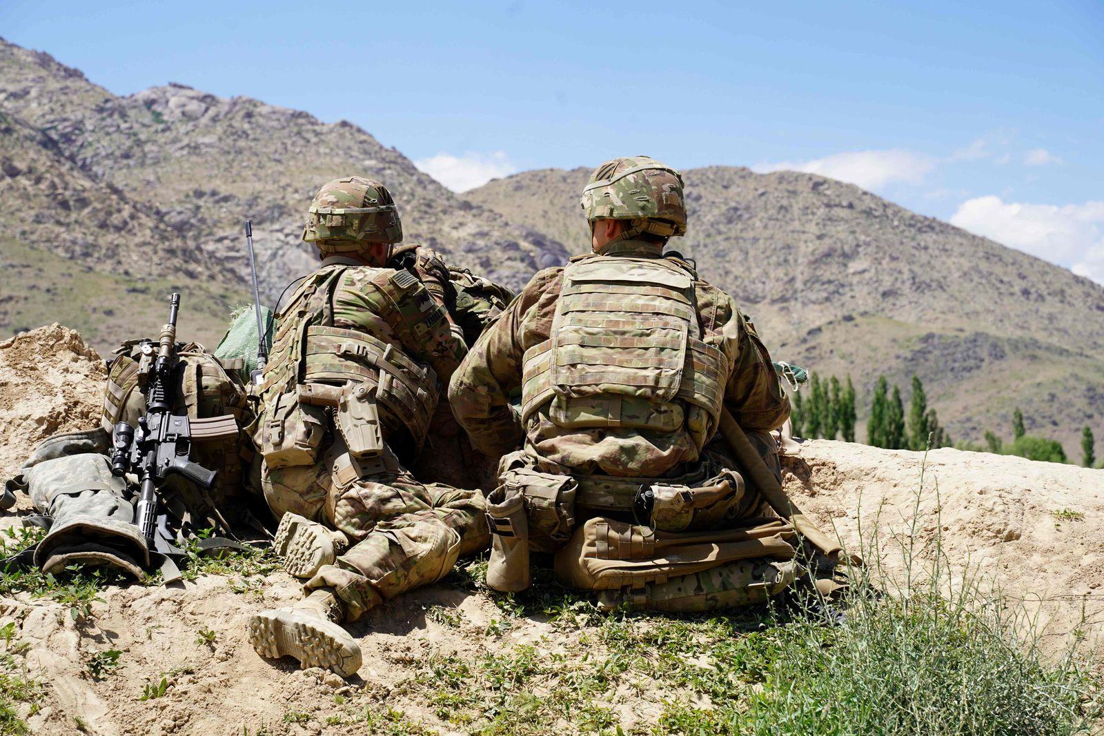 US-Soldaten beim Einsatz in Afghanistan